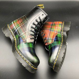 Dr. Martens 1460 TARTAN Plaid Leather Boots